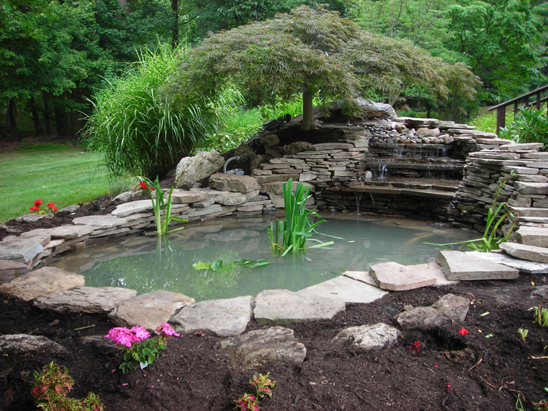 Lawn Ponds Installation | Aquascapes - Bucks County PA