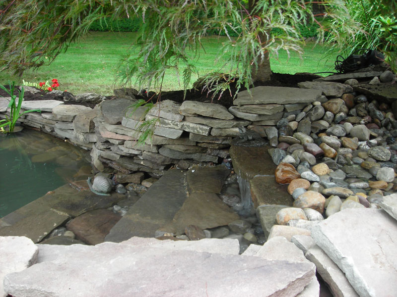 Aquascaping | Waterfall design & Pond - Yardley PA